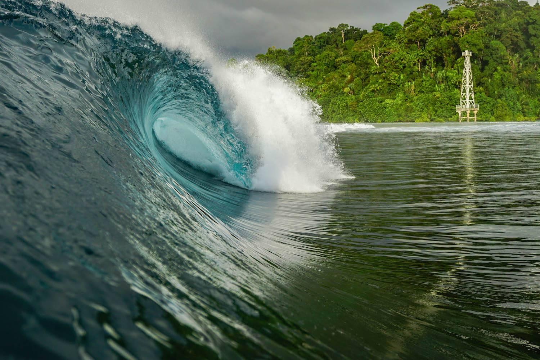 Surfing Simeulue