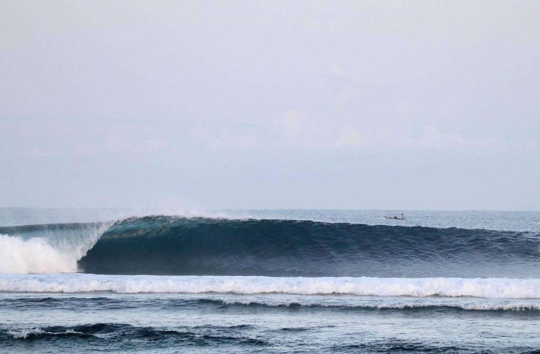 Surfing Krui Ujung Bocur