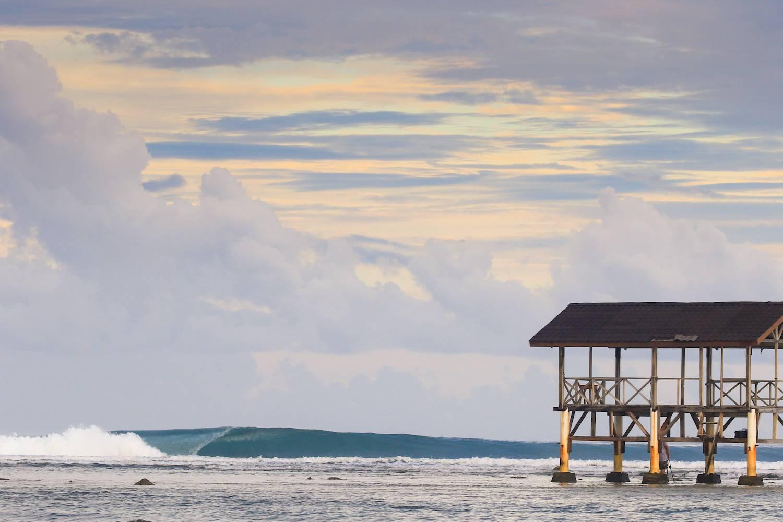 Mentawai boat or resort